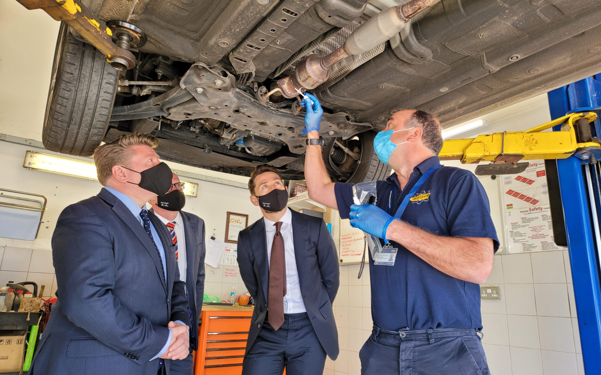 SmartTrace HT™ applied to combat to combat the increase in catalytic converter thefts